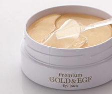 Premium Gold & EGF Hydrogel Eye Patch.